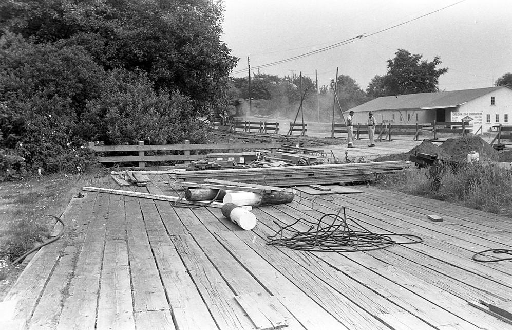Platform across Ferry Creek