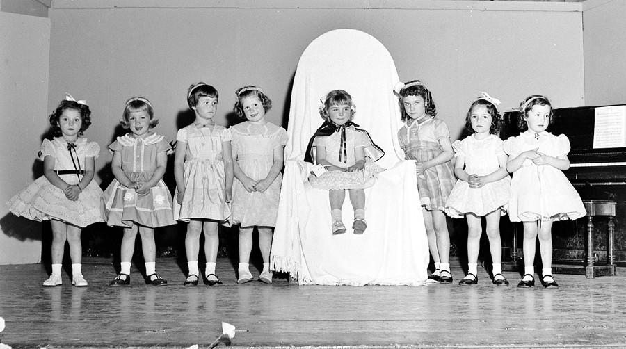 Little Miss Civic Club, 1957