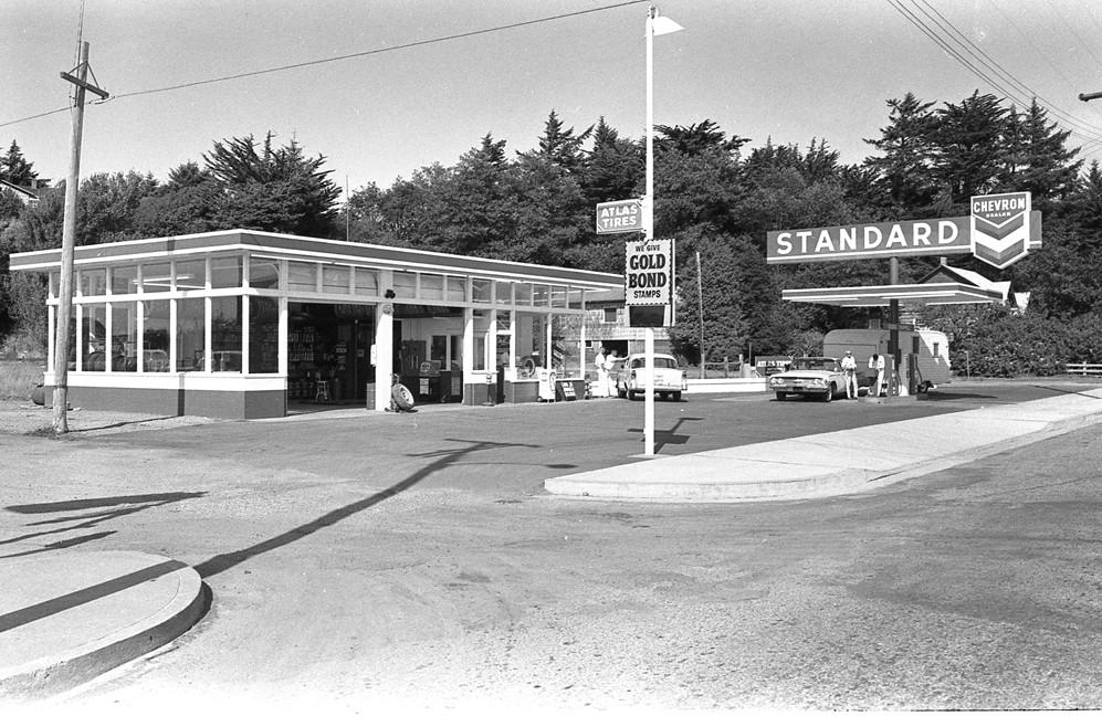 Standard/Chevron Service Station, 1963
