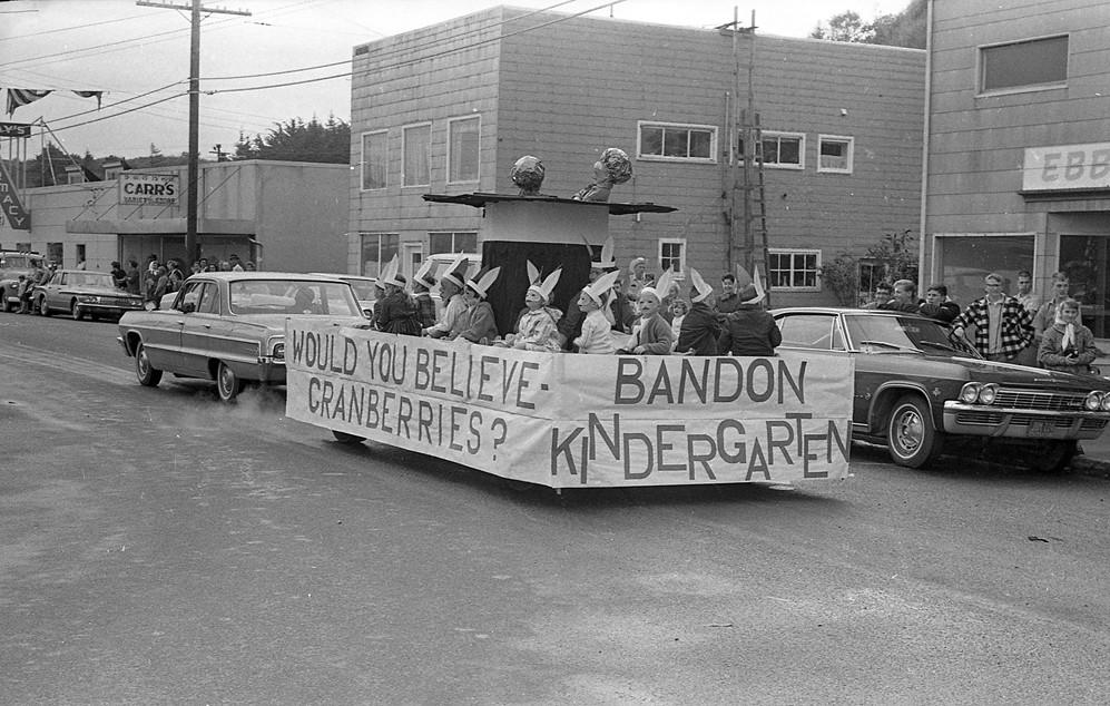 Cranberry Festival parade, 1966