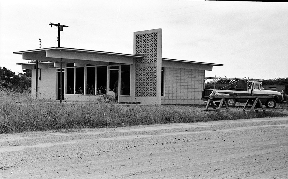 New laundromat building, 1960