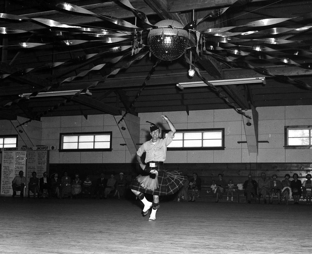 Cranberry Festival square dance, 1957