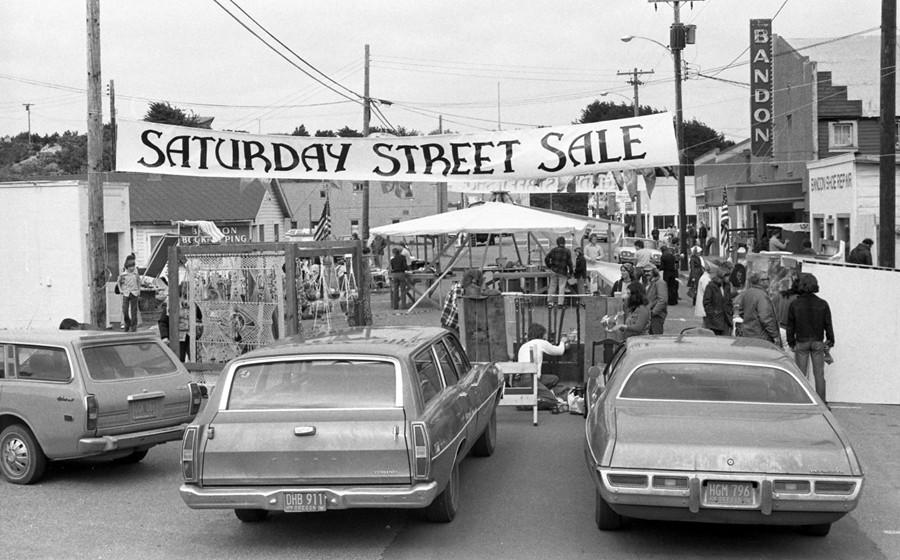 Saturday Street Sale 1970s