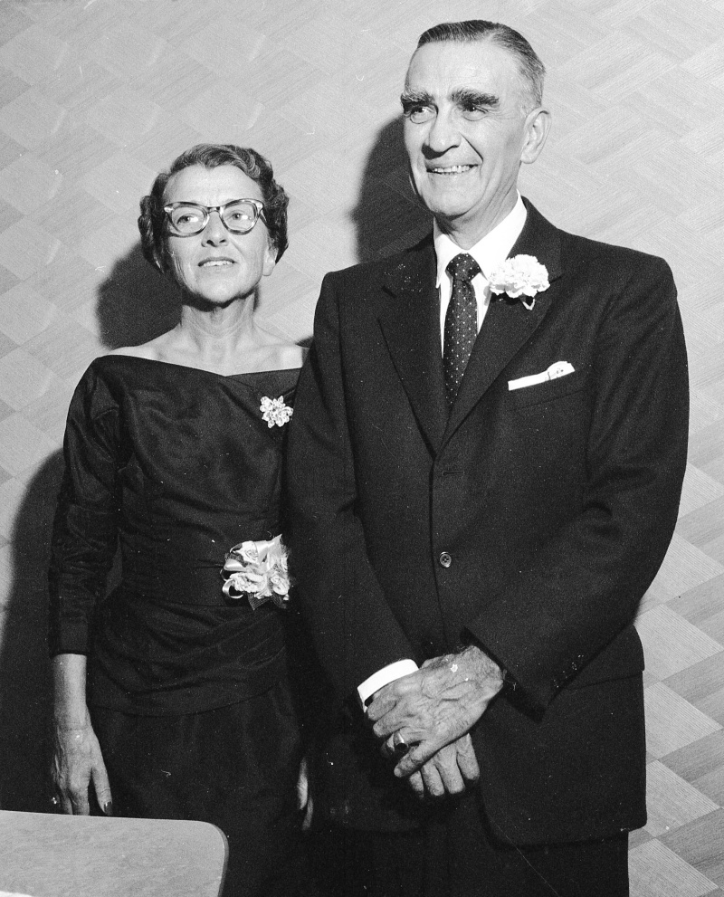 Mary and Dr. Ellsworth F. Lucas