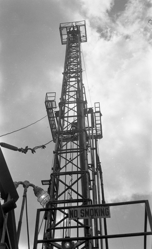 Drilling for oil, 1963