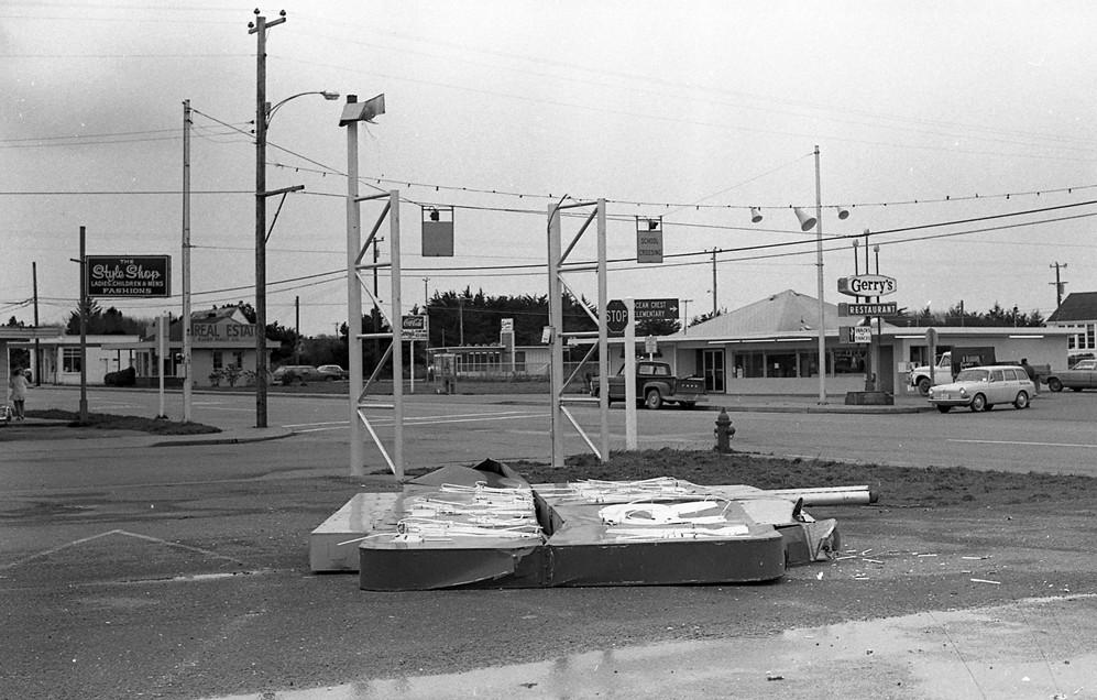 McKay's Market sign, 1970