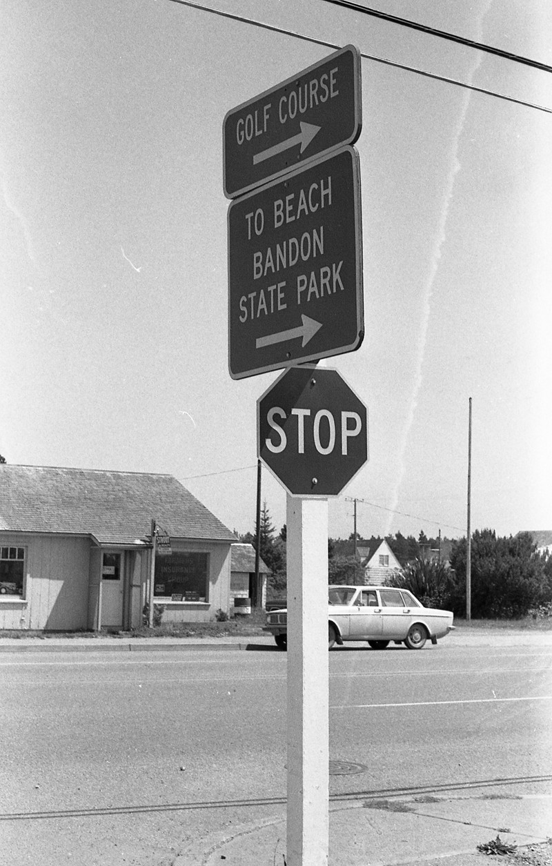 Intersection of Highway 101 and 11th Street, 1971