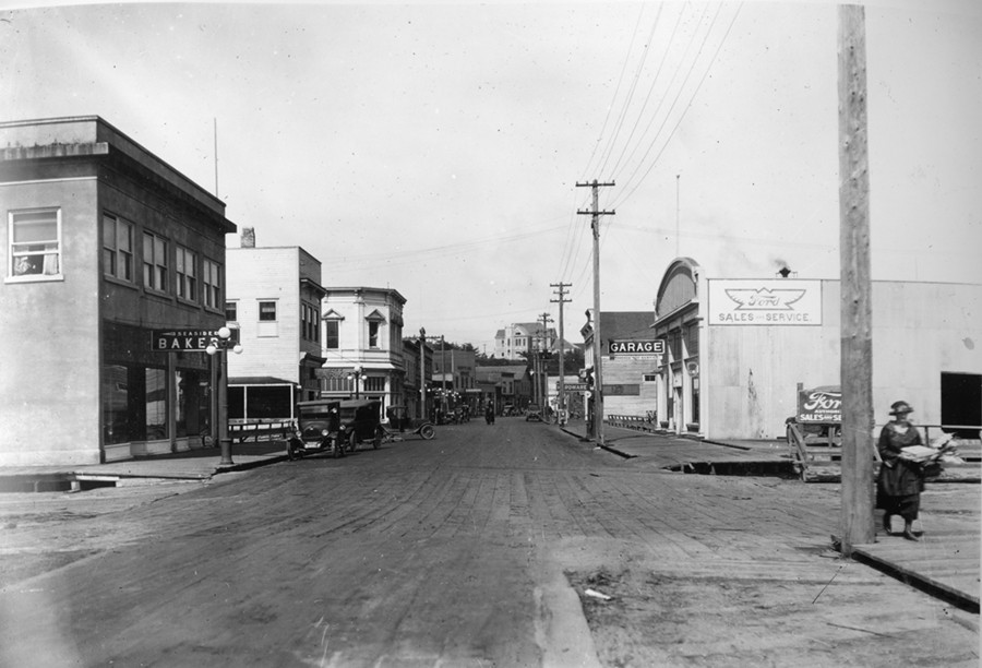 First Street before the Fire of 1936