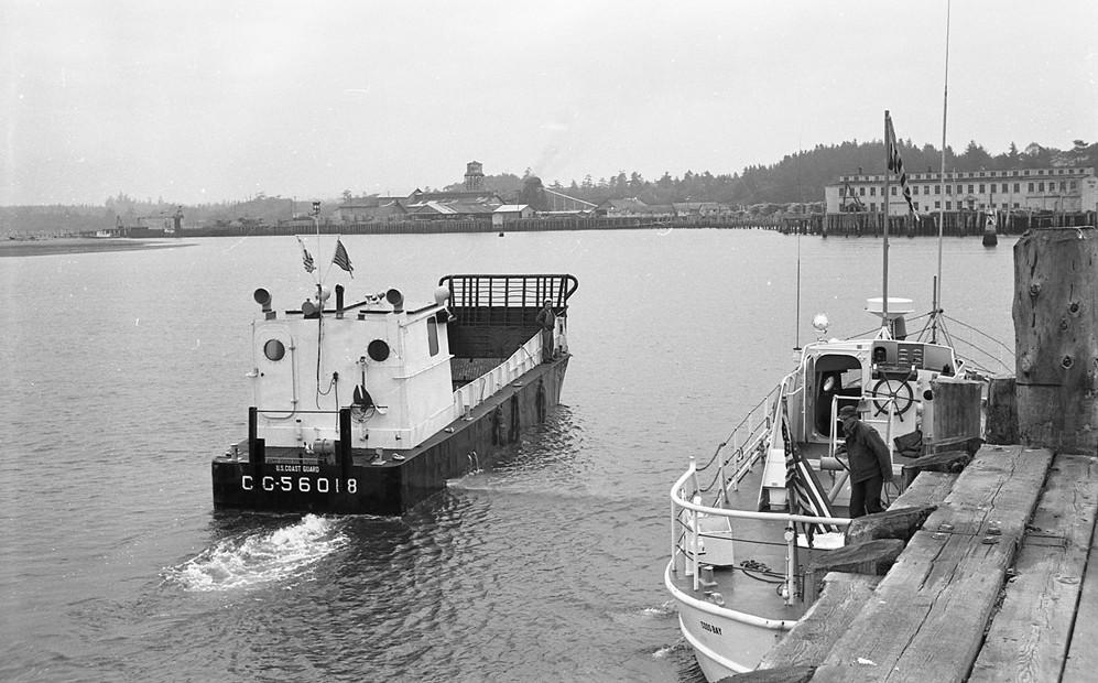 Port of Bandon dock, 1962