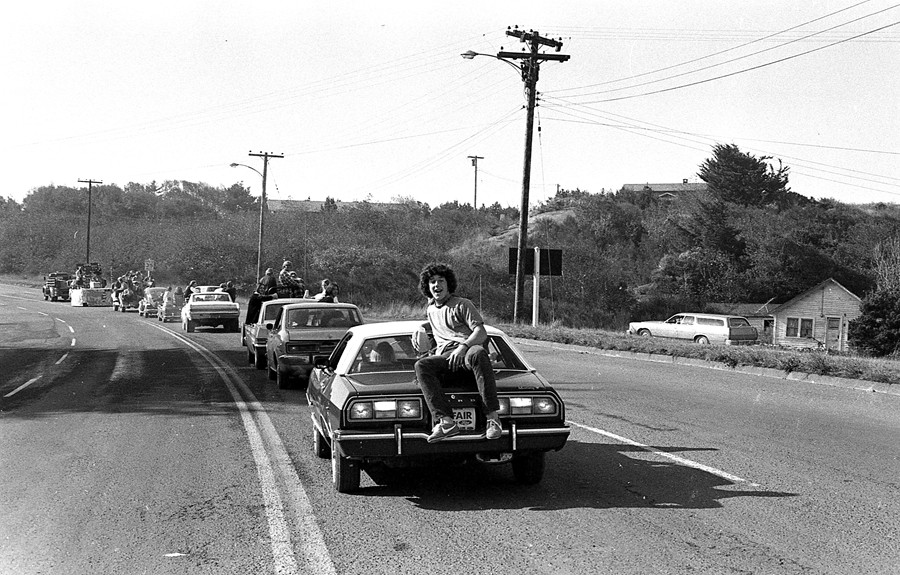 1974 BHS homecoming parade