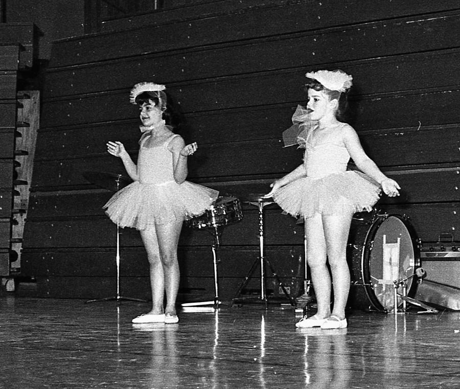 Cindy Goodbrod and Jerene Fraser, 1965