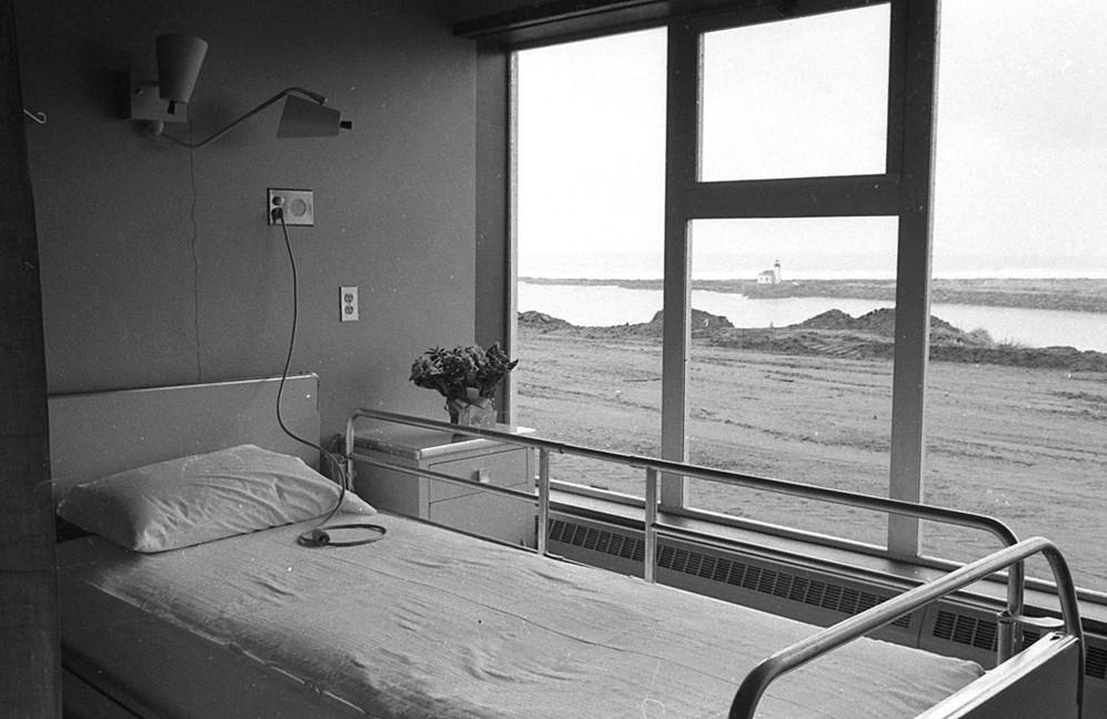 New hospital, 1960s