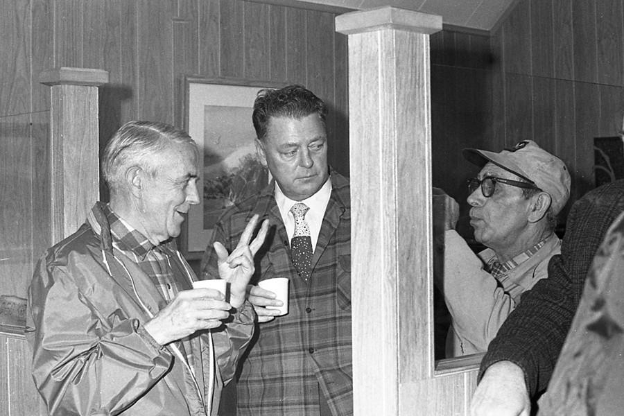 George Kronenberg, Walt Miller, & 'Toby' Cole, 1971