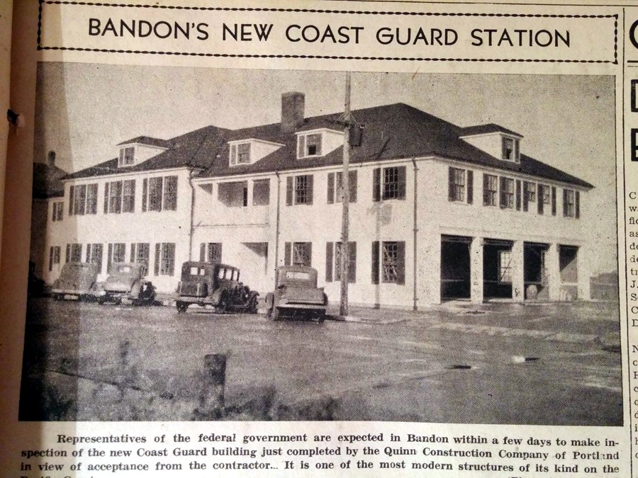 Coast Guard Station, 1940