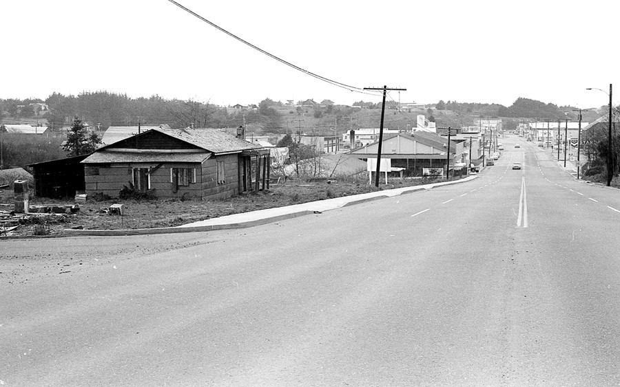 Entrance to town 1966