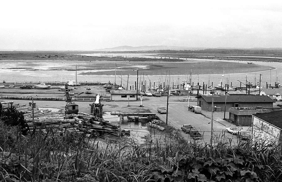 Bandon waterfront, 1980