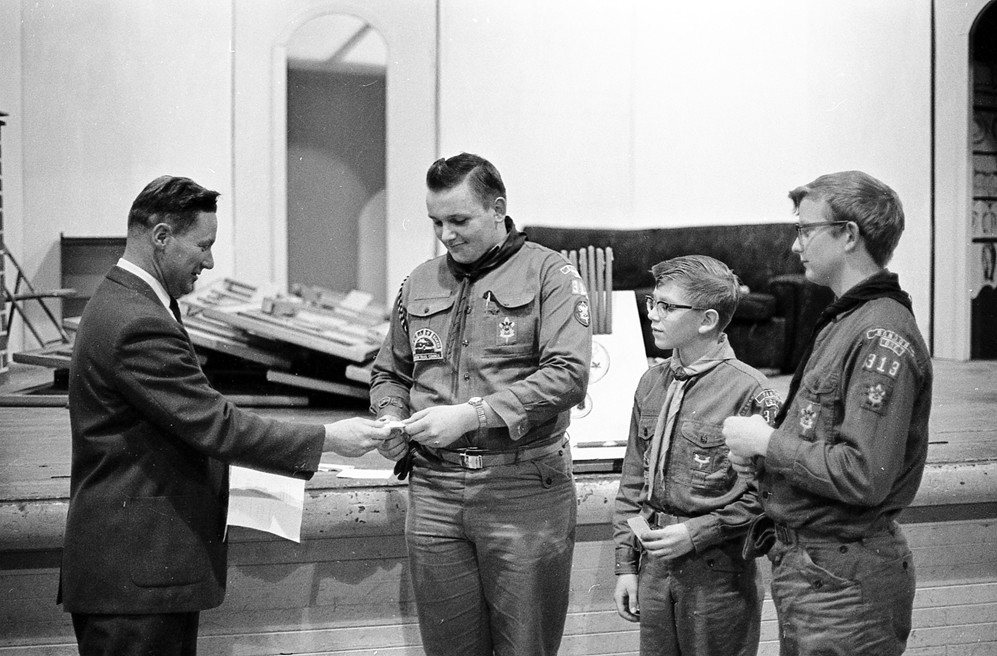 Boy Scout Court of Honor, 1966