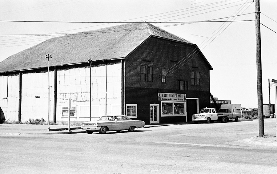 Coast Lumber Yard 1970