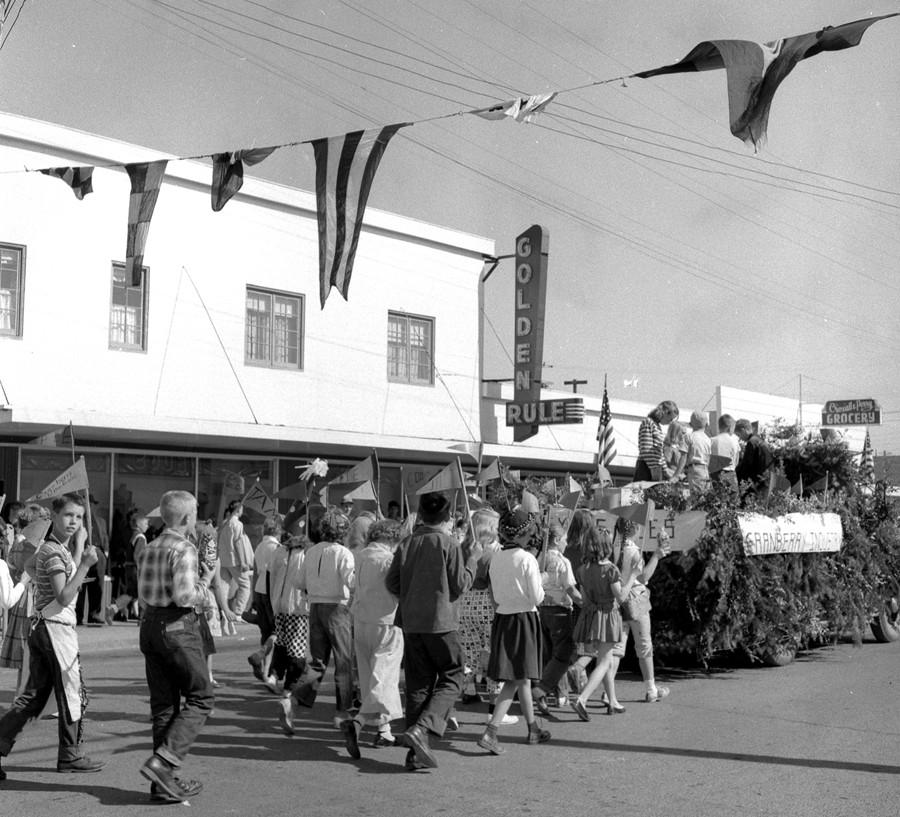 1956 Cranberry Festival Parade