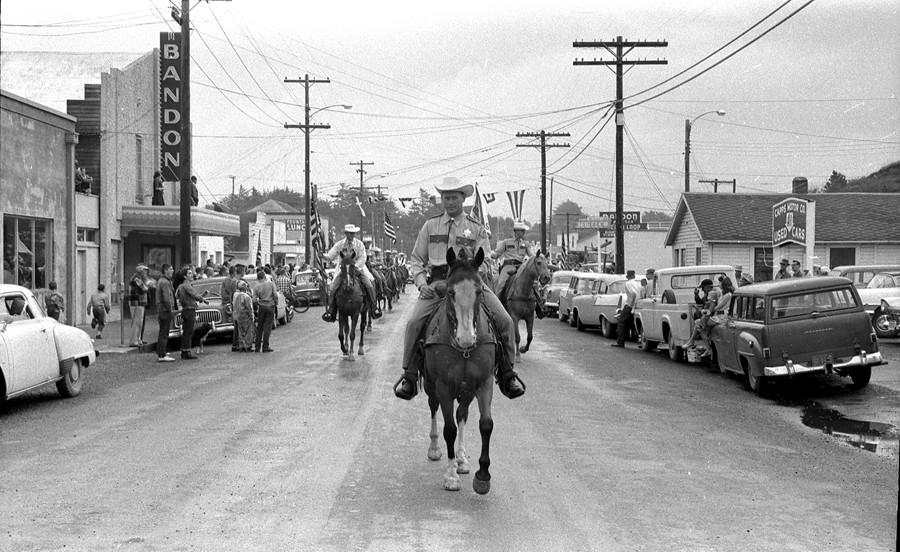 1959 Cranberry Festival Parade