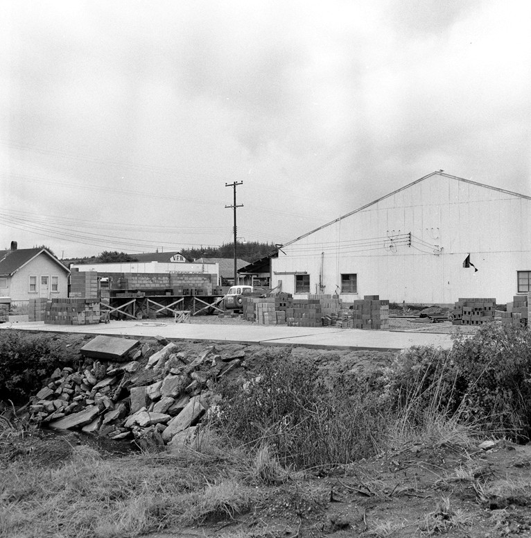 Coquille Valley Dairy Co-op construction 1959