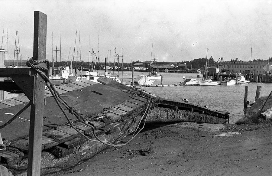 Dock repairs 1973