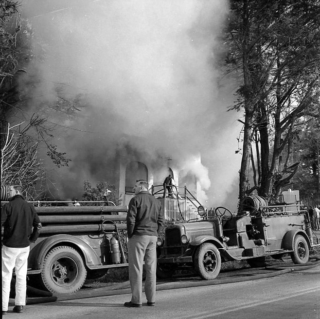 Kronenberg's officefire on Feb. 2, 1956