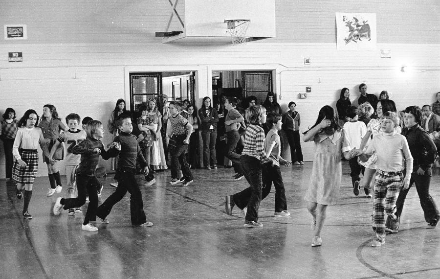 Ocean Crest School gym 1975