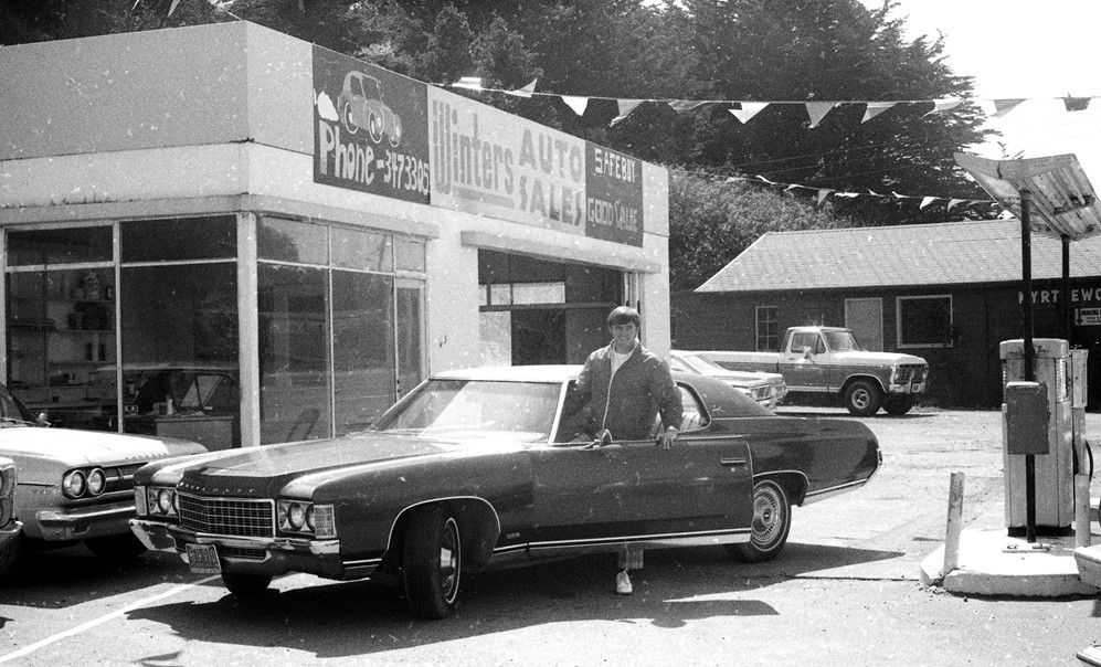 Barry Winters Auto Sales, 1975