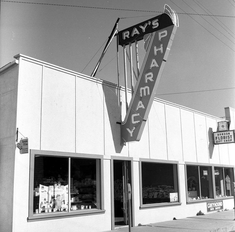 Ray's Pharmacy 1958