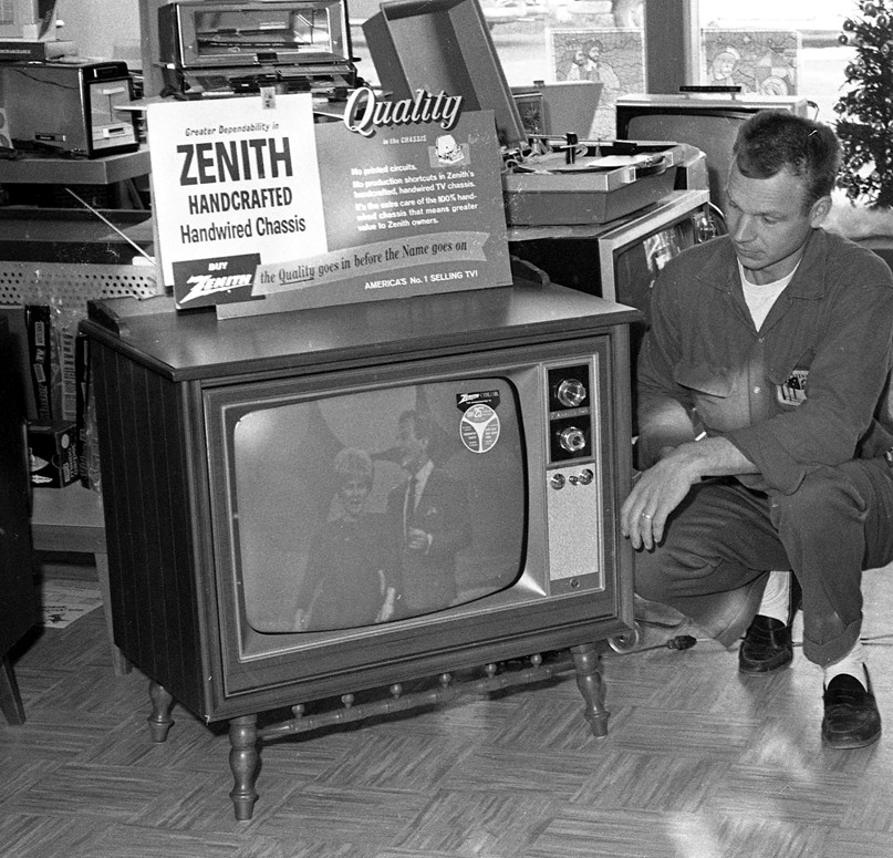 Dave's Radio & TV 1966