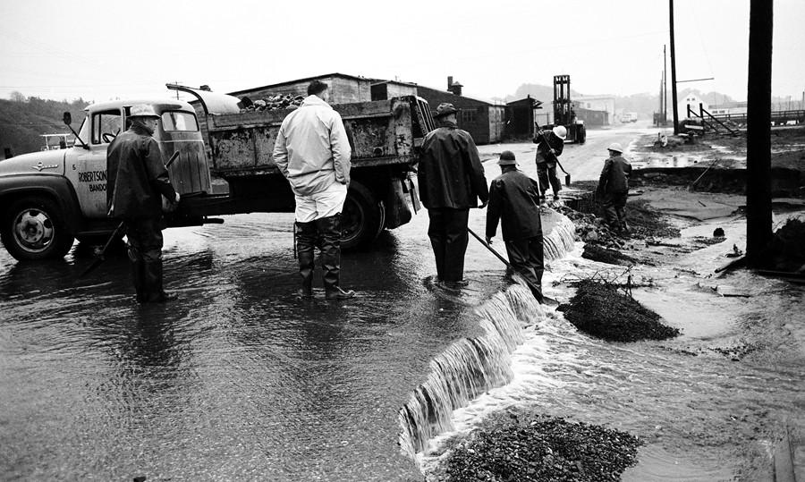 Flooding February 1961