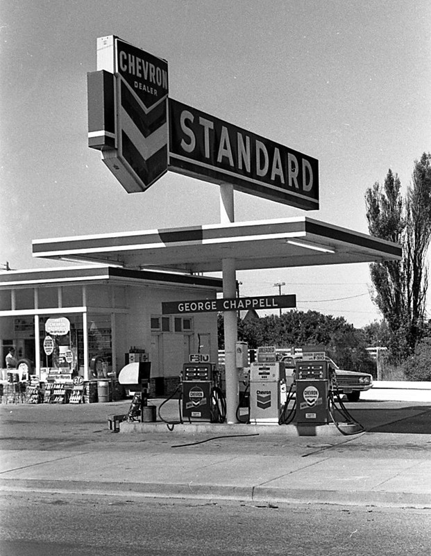 George Chappell's Chevron Station