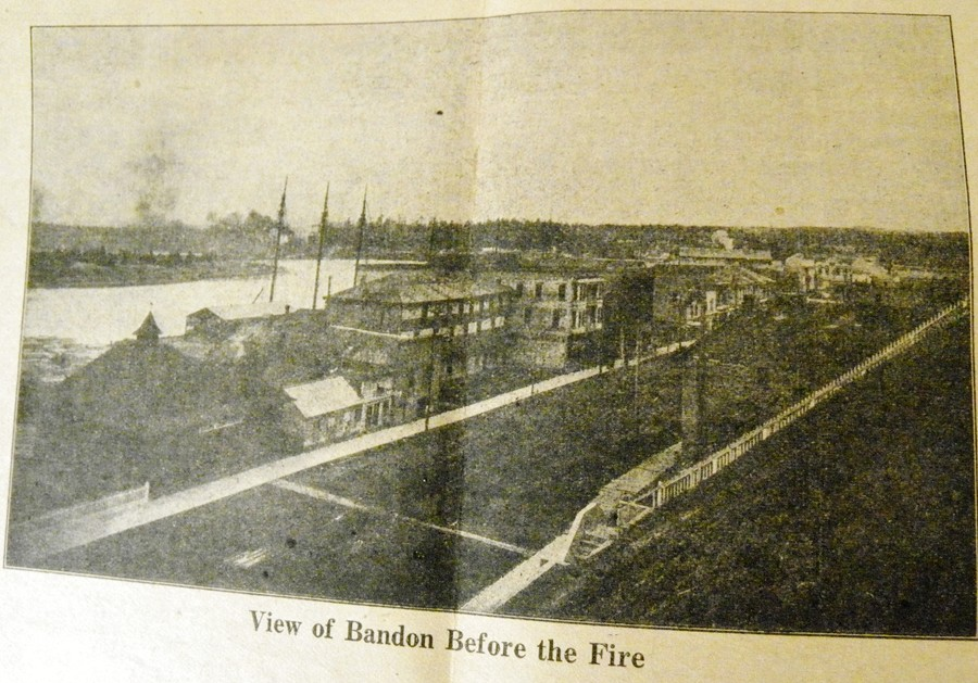 Bandon before the fire of 1914