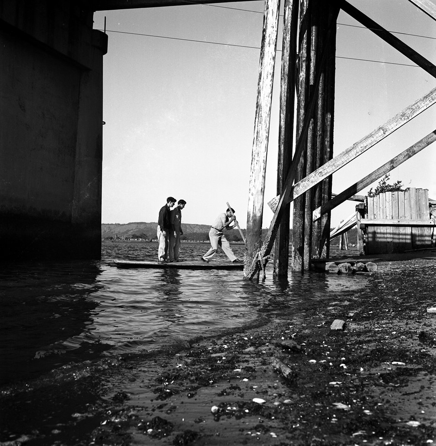 Jaycee Raft Race 1961