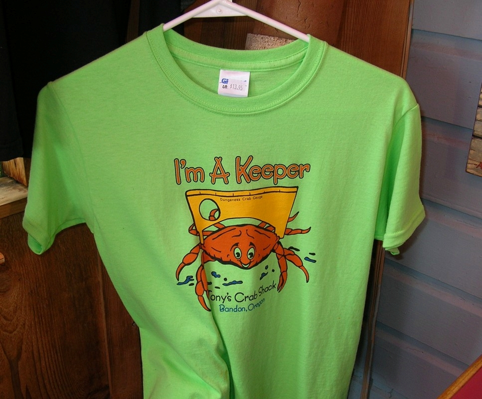 Tony's Crab Shack t-shirt