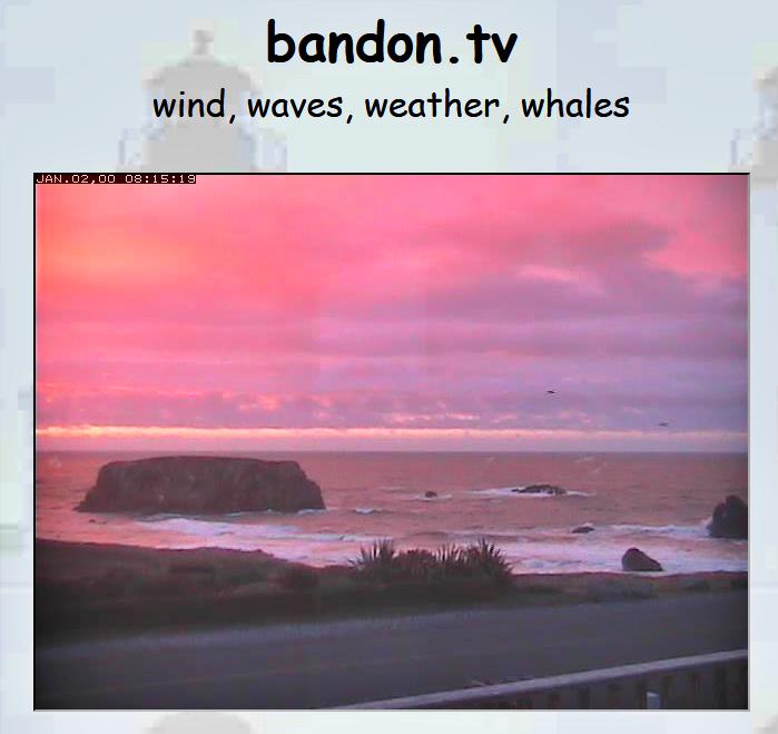Bandon beach cam